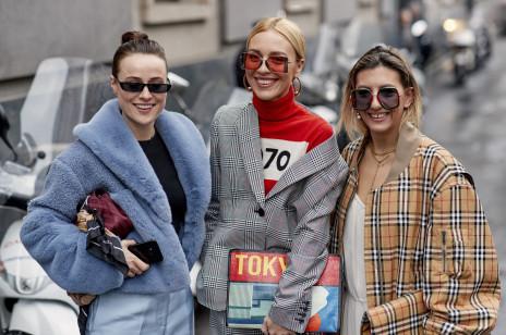 Moda uliczna na Milan Fashion Week jesień-zima 2018/2019