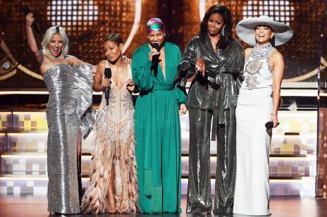 Grammy 2019: najlepsze momenty. Niespodziewane pojawienie się Michelle Obamy na scenie i historyczna wygrana Cardi B