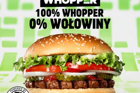 Burger King wprowadza do oferty roślinnego burgera! Rebel Whopper to nowa wersja kultowej kanapki marki