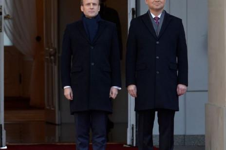 Prezydent Francji Emmanuel Macron jest w Polsce! To jego pierwsza oficjalna wizyta w naszym kraju. Czy jest z nim żona, Brigitte Macron?