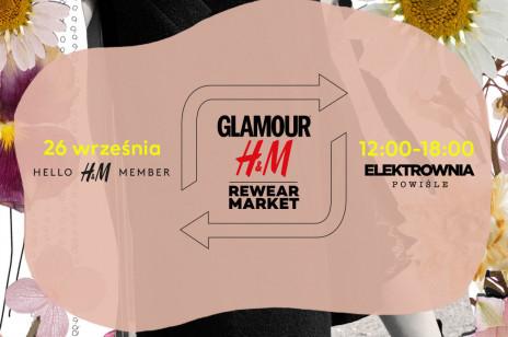Glamour x H&M Rewear Market 2020: Zapoluj na modowe perełki z szaf influencerek, stylistek i redaktorek mody! Zrób zakupy w duchu #LESSWASTE