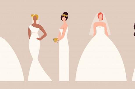 Jaką suknię i fryzurę ślubną wybrać? Oto, na co powinnaś zwrócić uwagę!
