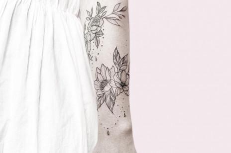 Tatuaż bransoletka: minimalistyczne i ekstrawaganckie tatuaże  - 20 modnych wzorów