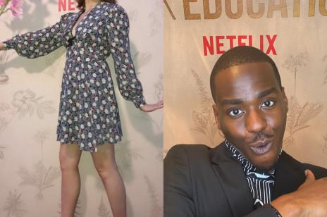 """TYLKO U NAS: """"Sex Education"""" – 3. sezon będzie ostatnim? Aimee Lou Wood i Ncuti Gatwa zdradzają swoje reakcje"""
