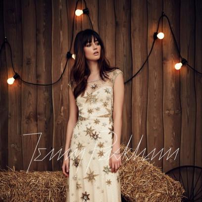 28c04ada Ślubna kolekcja Jenny Packham na sezon wiosna 2017