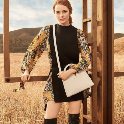 Emma Stone w kampanii Louis Vuitton The Spirit of Travel 2018