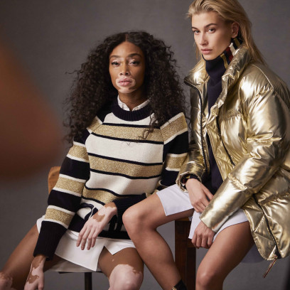 Hailey Baldwin i Winnie Harlow to nowe ambasadorki marki Tommy Hilfiger