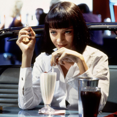"Uma Thurman w filmie ""Pulp Fiction"""