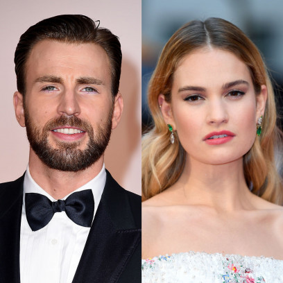 Chris Evan i Lily James są parą_ G
