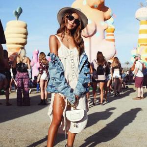 Julie Sariñana na festiwalu Coachella 2017