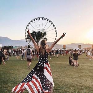 Jessica Mercedes Kirschner na festiwalu Coachella 2017