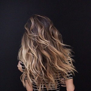 Brown and Blonde Ombré
