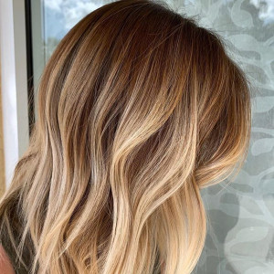 Piece-y Blonde Ombré