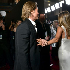 Brad Pitt i Jen Awards na SAG Awards 2020