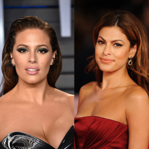 Ashley Graham i Eva Mendes