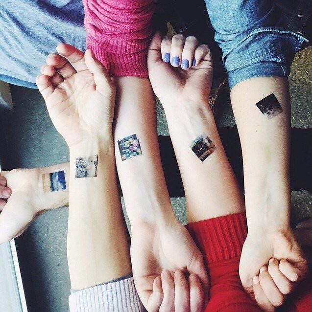 Zmywalne Tatuaże Są Hitem Nie Tylko Złote I Srebrne