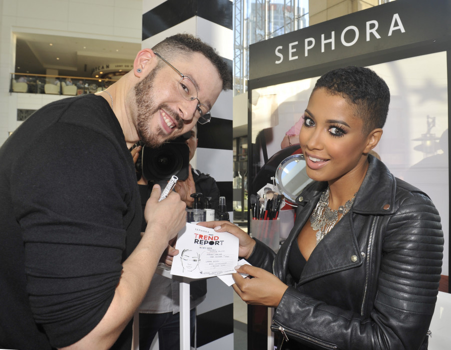 Jeffrey English i Particia Kazadi / Sephora