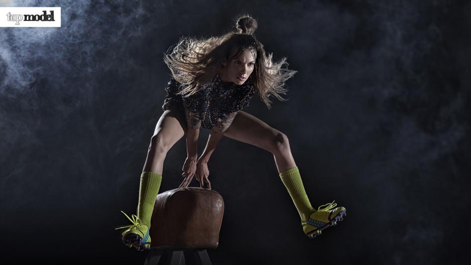Natalia Gulkowska x sesja lekkoatletyczna