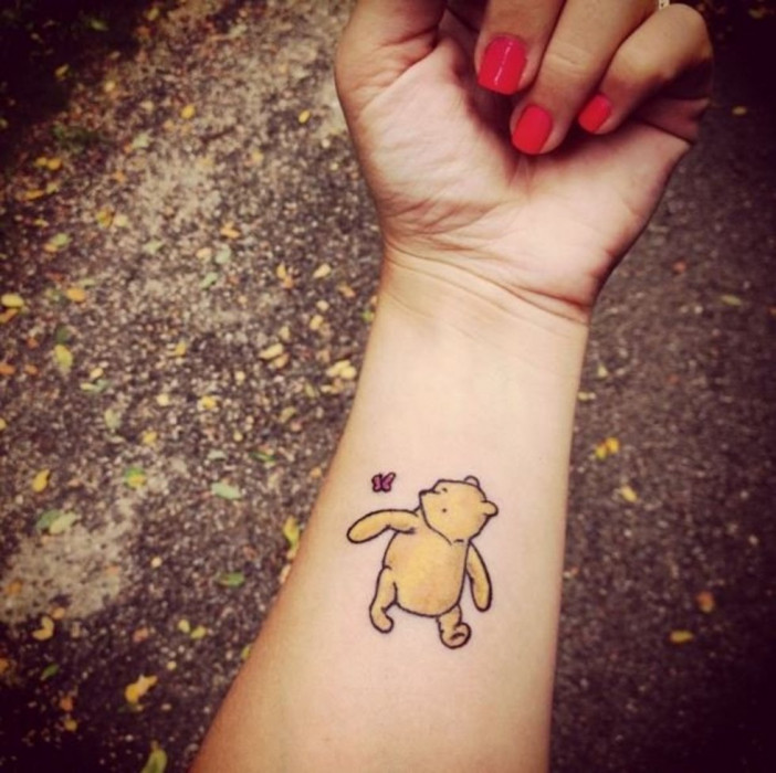 13 Tatuaży Inspirowanych Książkami Z Dzieciństwa Glamourpl