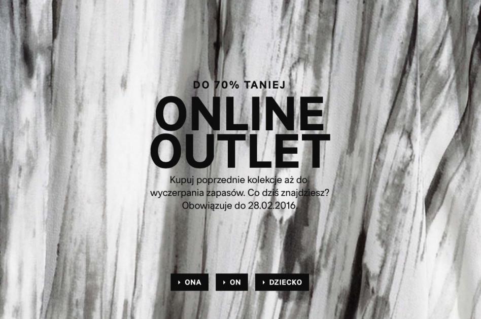 a8220c82c1 H M uruchomił outlet online - Glamour.pl