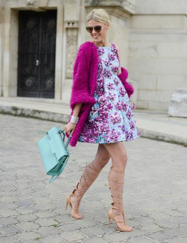 83276ed65a8857 Sukienki w kwiaty na wiosnę 2016 - Glamour.pl