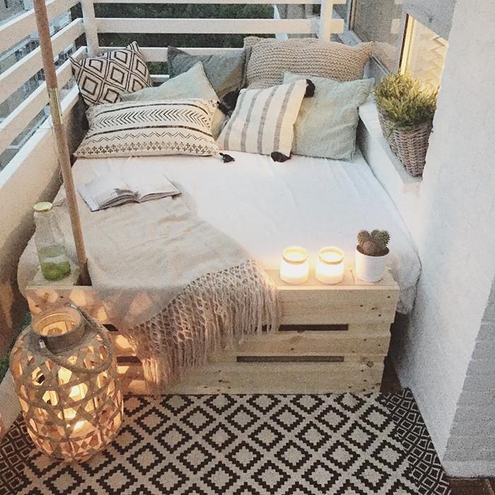 jak stworzy przytulny balkon inspiracje. Black Bedroom Furniture Sets. Home Design Ideas