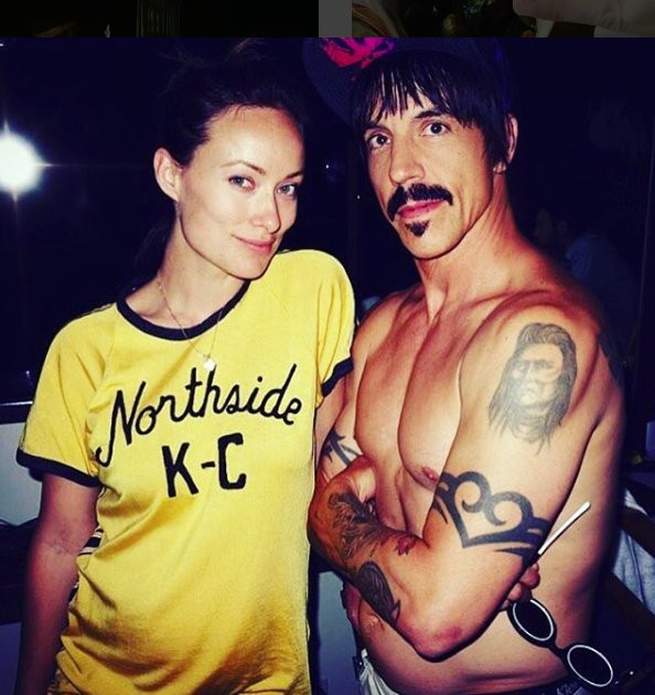 Olivia Wilde x Red Hot Chili Peppers