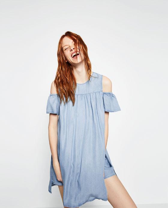a0111a47f86333 Wyprzedaże w sklepach ZARA wiosna lato 2016! Sukienki za mniej niż ...