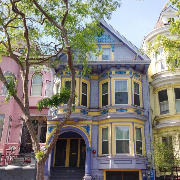 Kolorowe Domy W San Francisco Glamour Pl