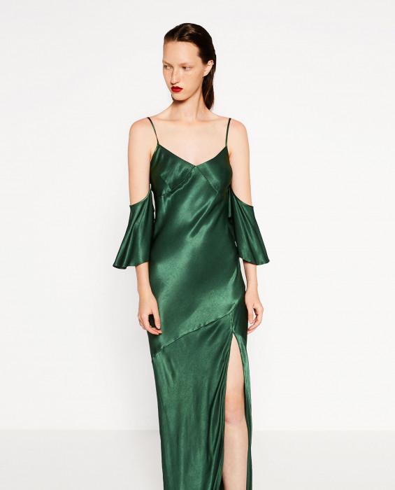 3064d054ca ZARA - 10 najlepszych sukienek na Sylwestra z wyprzedaży kolekcji ...