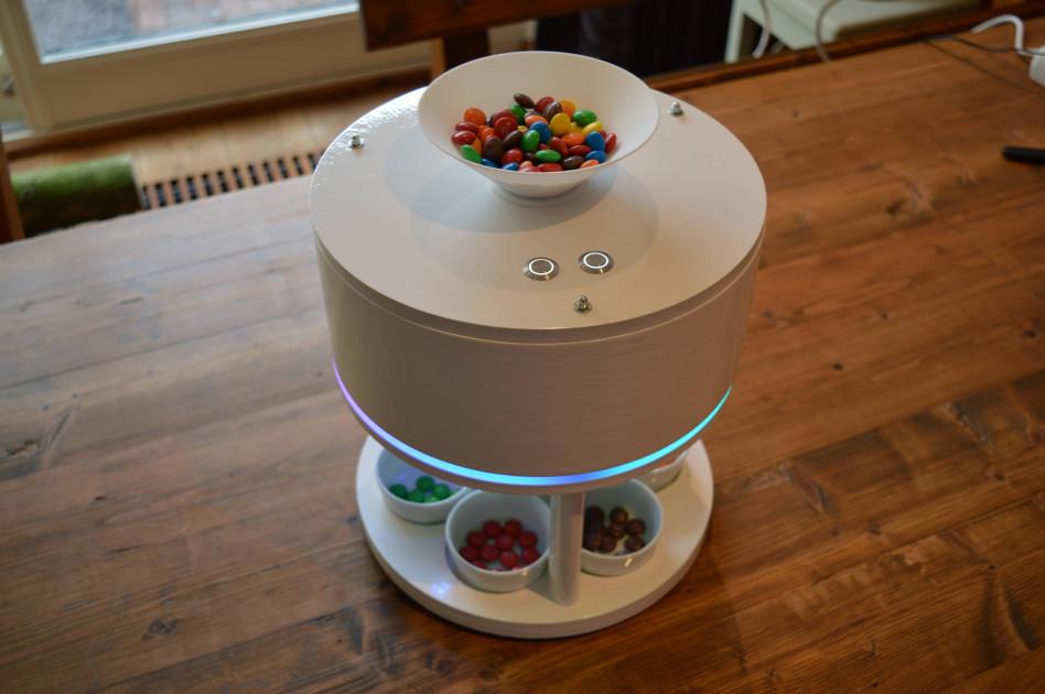 Maszyna do sortowania kolorowych cukierków