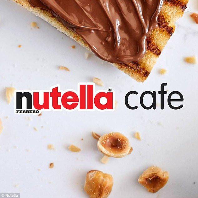 Nutella otwiera pierwszą restaurację!