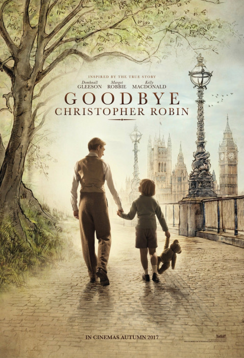 "Plakat filmu ""Goodbye Christopher Robin"""