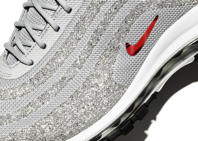 gorąca sprzedaż online buty sportowe Nowe Produkty Kultowy model Nike Air Max 97 z kryształami Swarovskiego ...