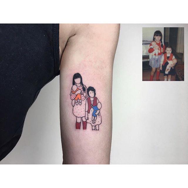 Dzieciństwo W Tatuażu Czyli Genialne Prace Alicana Gorgu