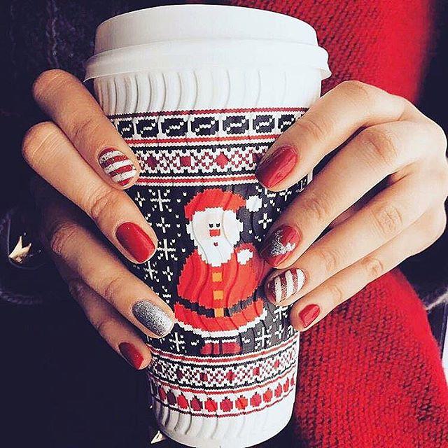 10 Pomysłów Na świąteczny Manicure Glamourpl