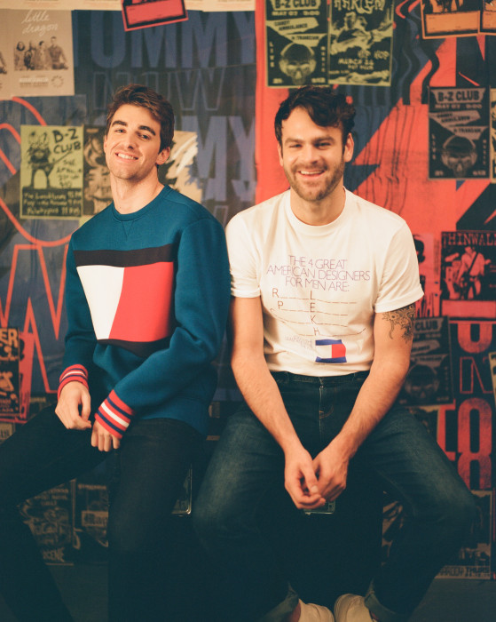 "The Chainsmokers w kampanii ""HEADLINERS"" Tommy Hilfiger jesień 2017"