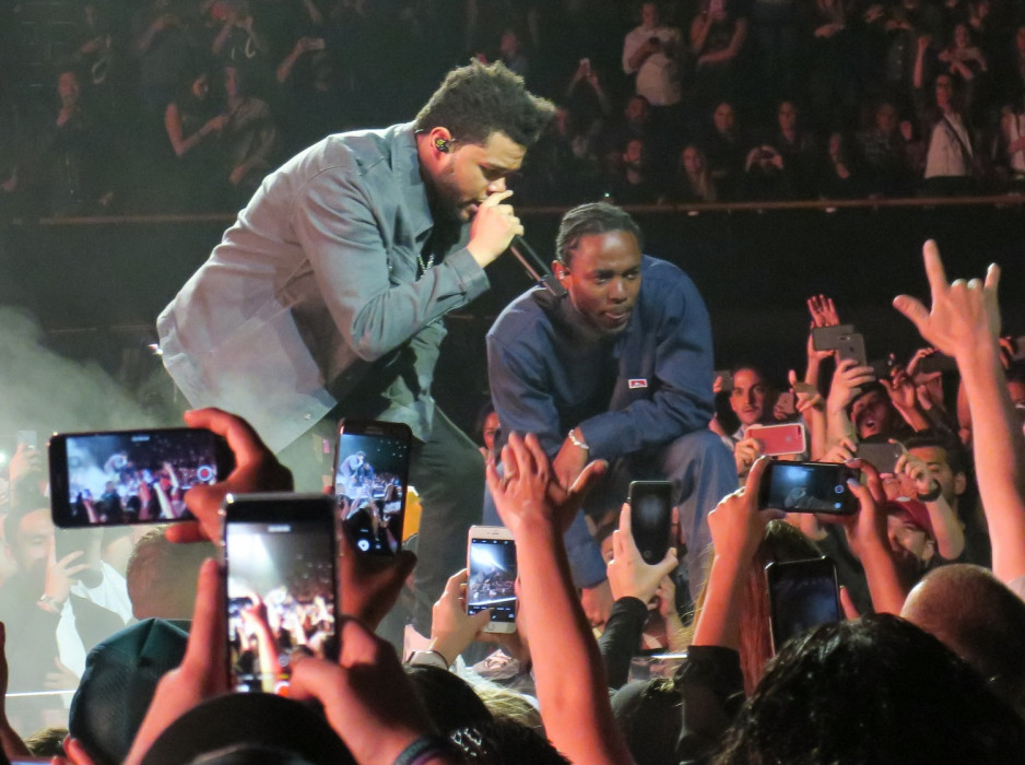 The Weeknd i Kendrick Lamar