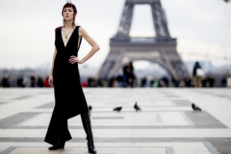 08df002a3516b4 Moda uliczna na Paris Fashion Week jesień-zima 2018/2019 - Glamour.pl