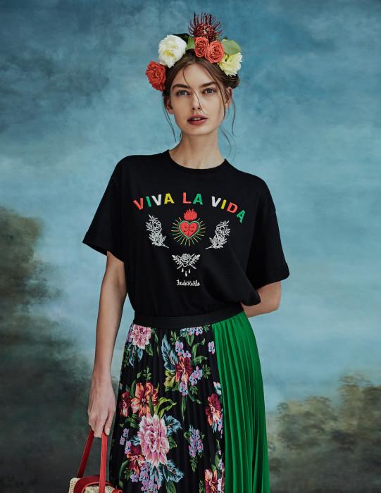 8d65fcbeef6eb Stradivarius stworzył kolekcję inspirowaną Fridą Kahlo - Glamour.pl