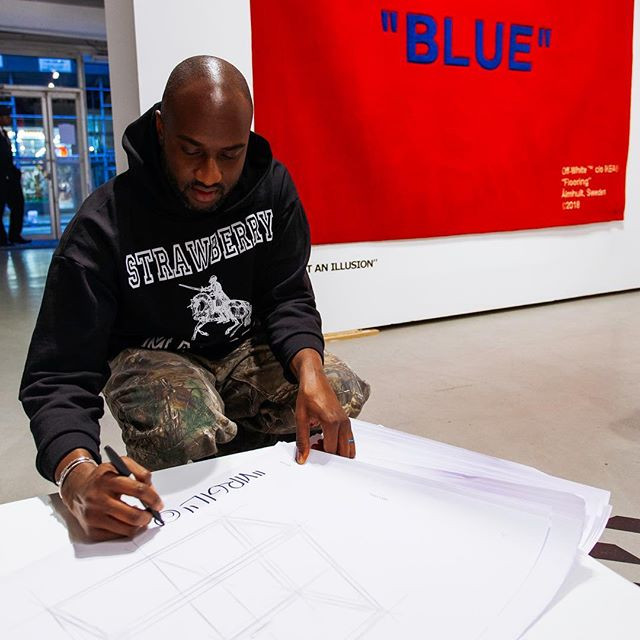 Virgil Abloh z Off-White dla IKEA