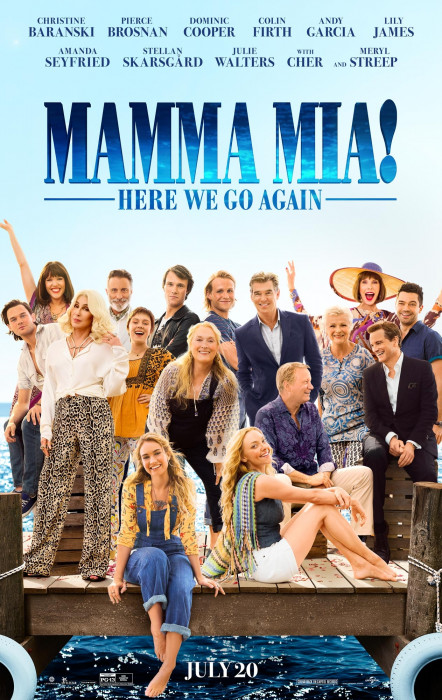 Mamma Mia : Here We Go Again (2018)
