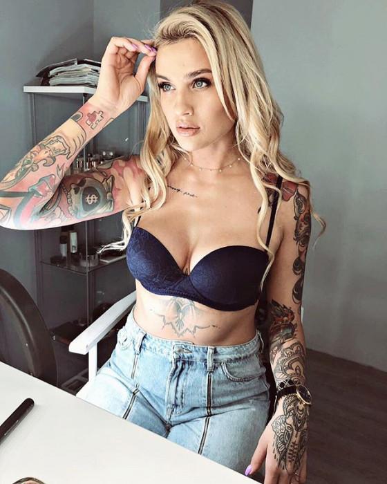 Najpiękniejsze Tatuaże Gwiazd Glamourpl