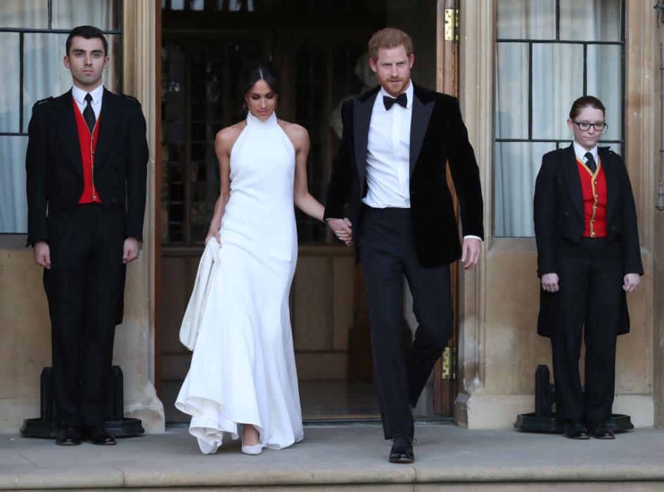 Druga Suknia ślubna Meghan Markle Też Była Obłędna Czyj To Projekt