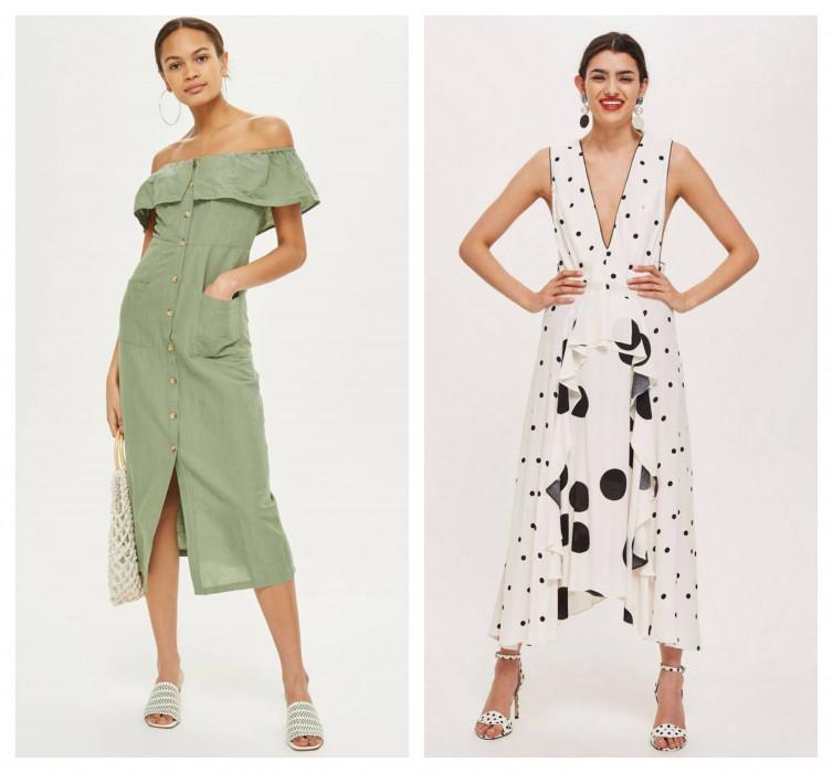 6bd12f286 Te dwie sukienki z Topshopu wyprzedały się w mgnieniu oka. Teraz na eBay  kosztują kilka