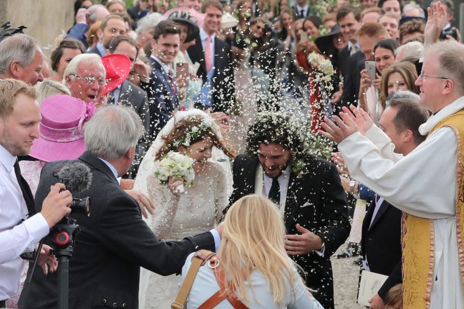 Kit Harington I Rose Leslie Wzięli ślub Zobaczcie Zdjęcia Z