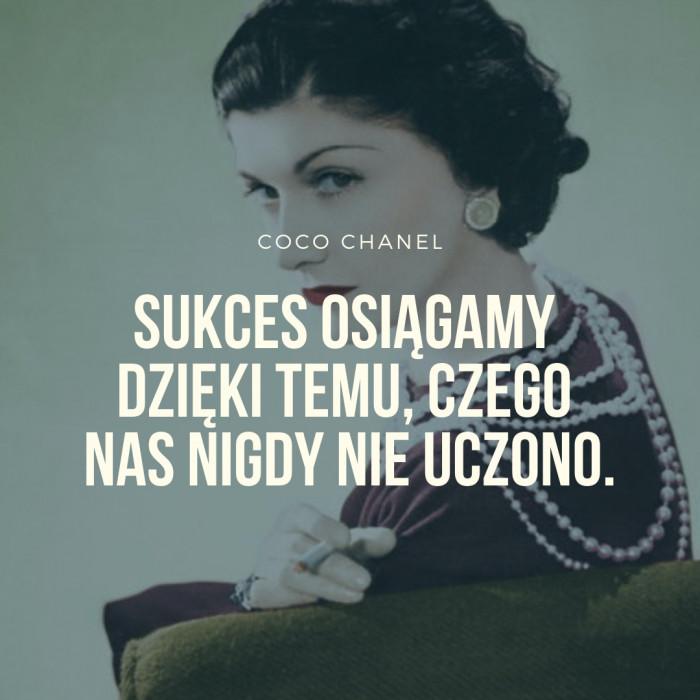 Quiz Który Cytat Coco Chanel Najlepiej Opisuje Twoje życie