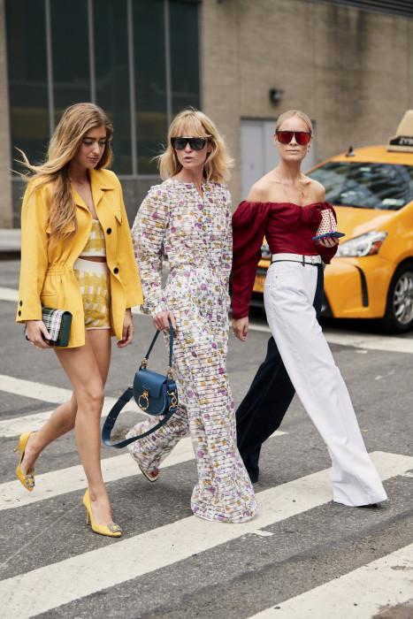 7c2235b1b0 Moda uliczna na New York Fashion Week wiosna-lato 2019 - Glamour.pl