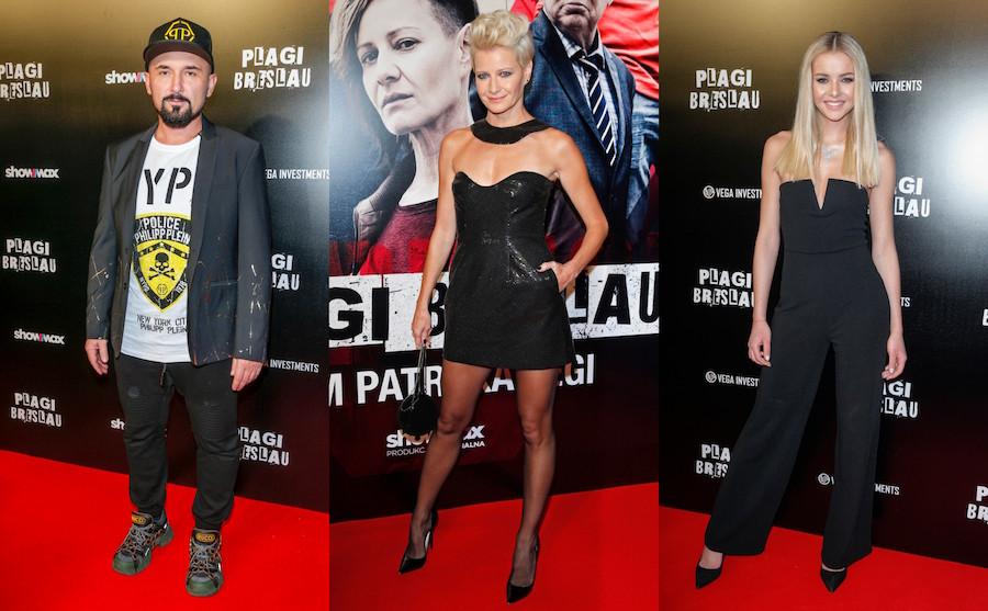 """708080f931e55b Gwiazdy na premierze filmu Patryka Vegi """"Plagi Breslau"""" - Glamour.pl"""