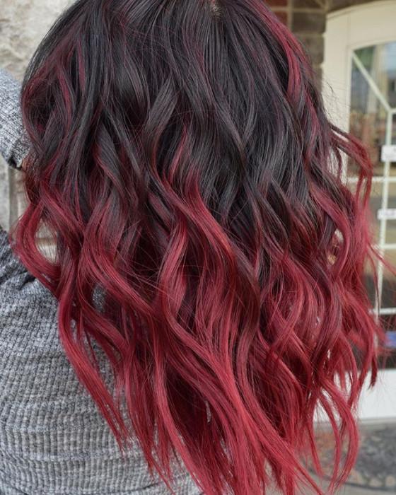 Modne Fryzury 2019 Wine Hair Czyli Idealna Koloryzacja